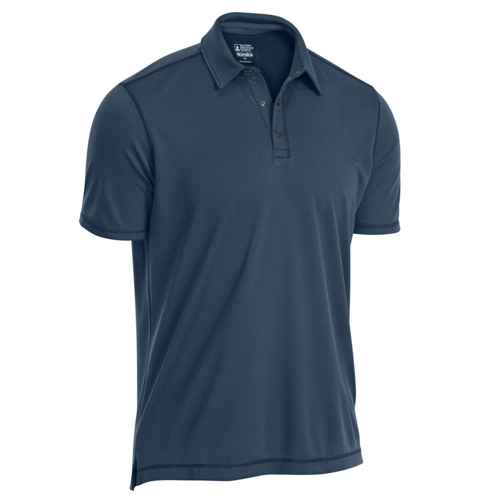 EMS® Men's Tech Short-Sleeve Polo - MIDNIGHT NAVY