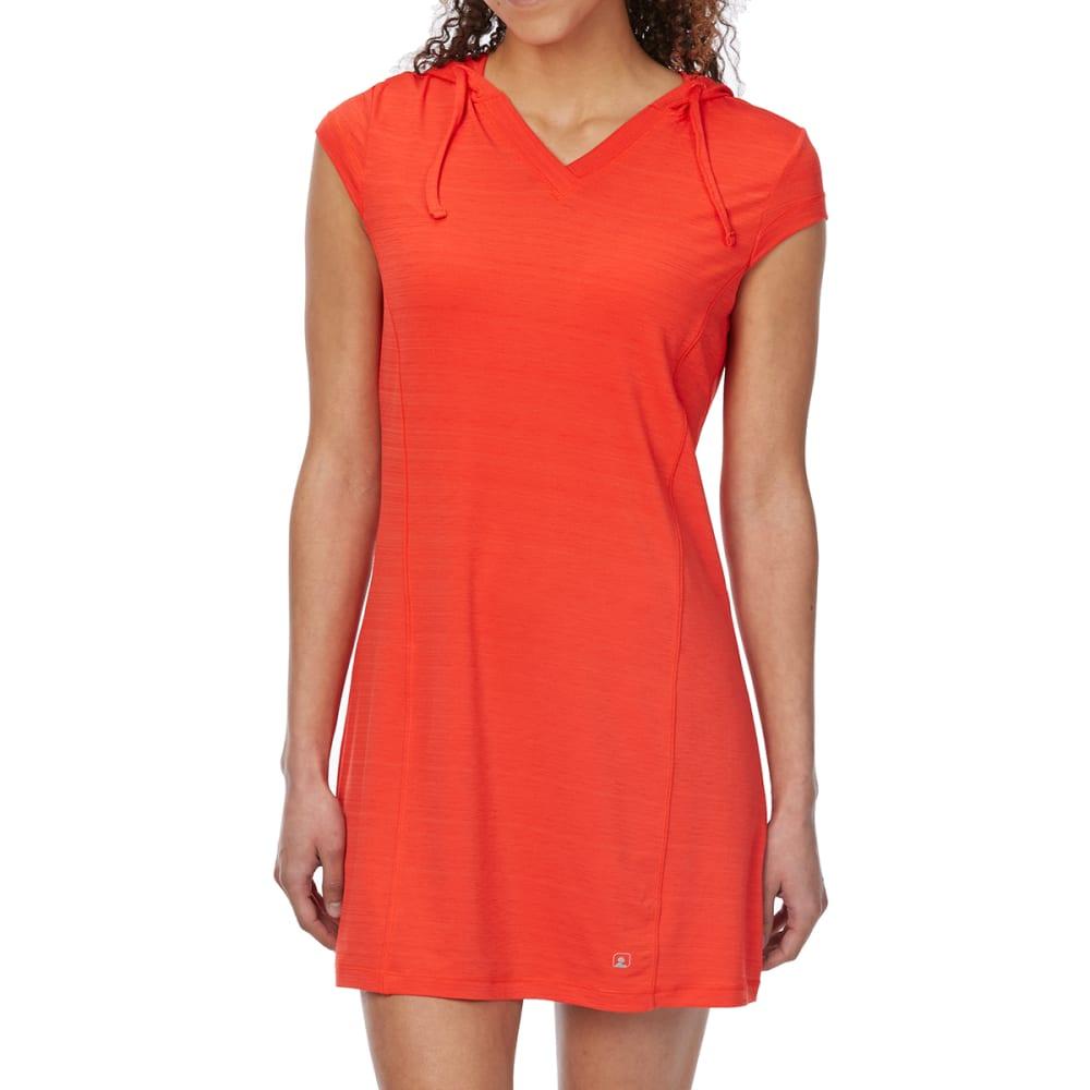 EMS Women's Techwick Hydro UPF Tunic Dress - POPPY RED