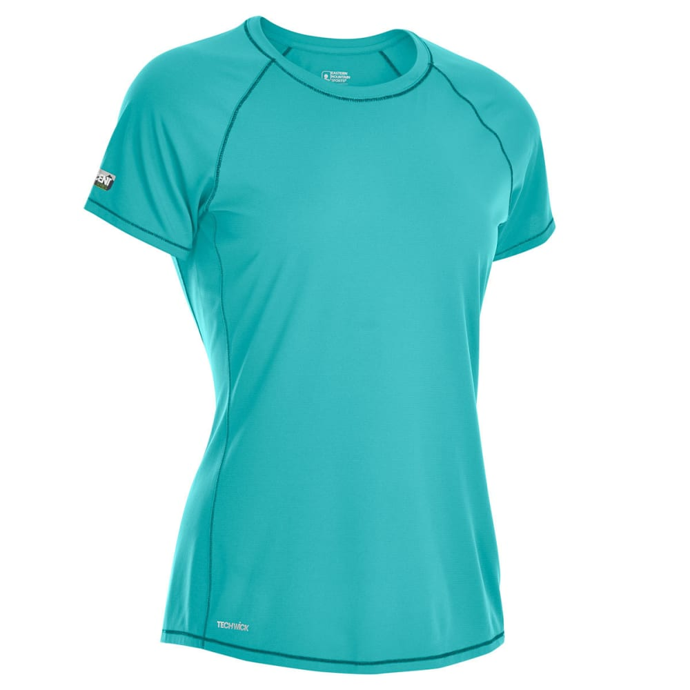 EMS Women's Techwick Trail Run Short-Sleeve Tee - LATIGO BAY