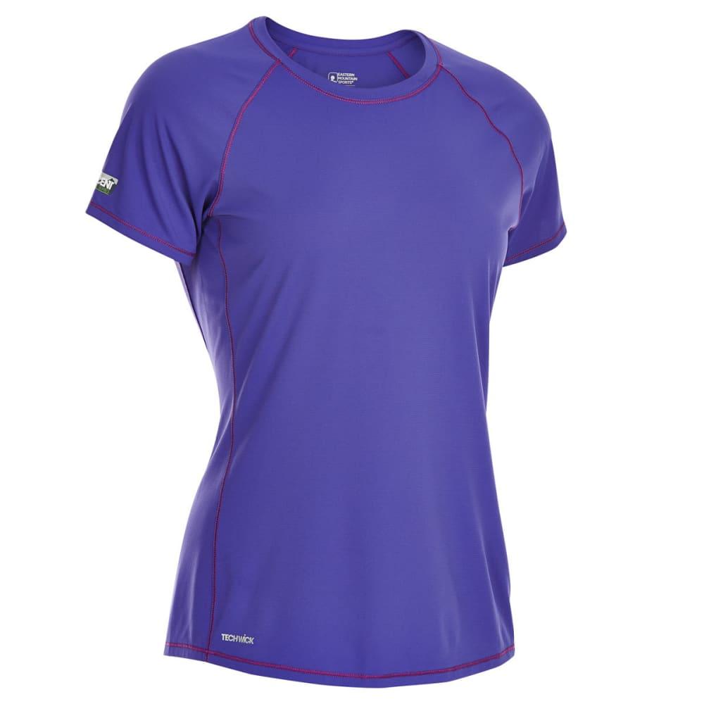 EMS Women's Techwick Trail Run Short-Sleeve Tee - LIBERTY