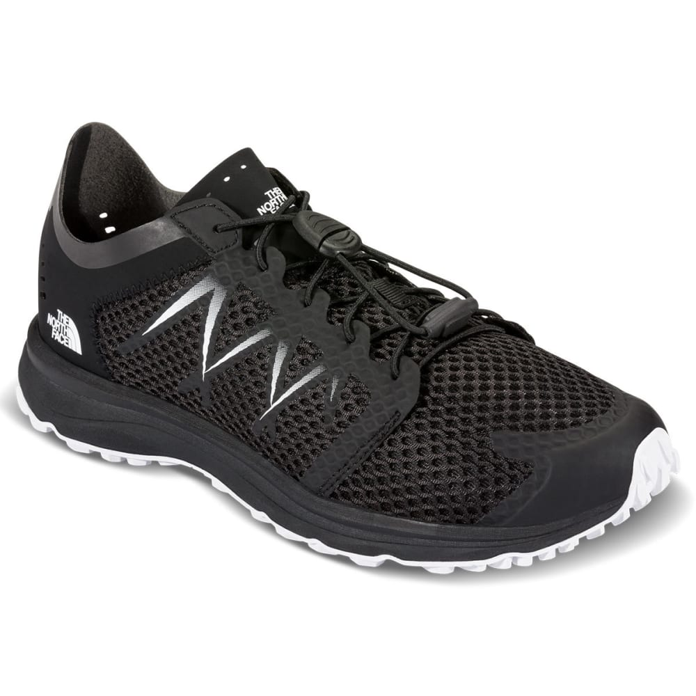 THE NORTH FACE Women's Litewave Flow Lace Sneakers, Black - BLACK