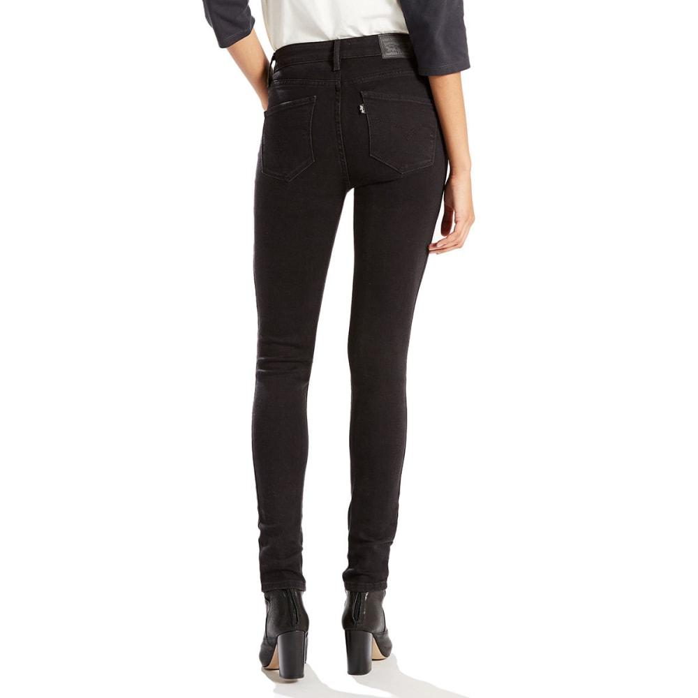 LEVI's Women's 721 High Rise Skinny Jeans - 0024-SOFT BLACK