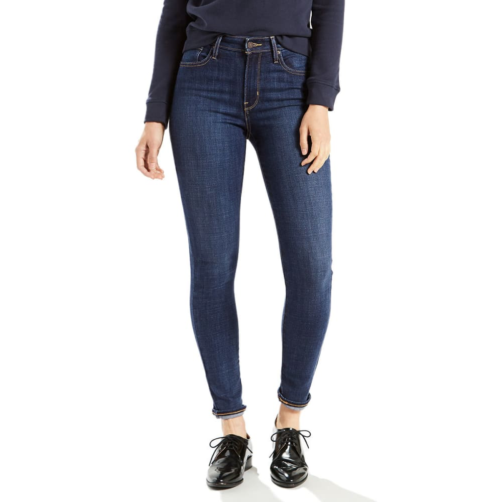 LEVI's Women's 721 High Rise Skinny Jeans - 0047-BLUE STORY