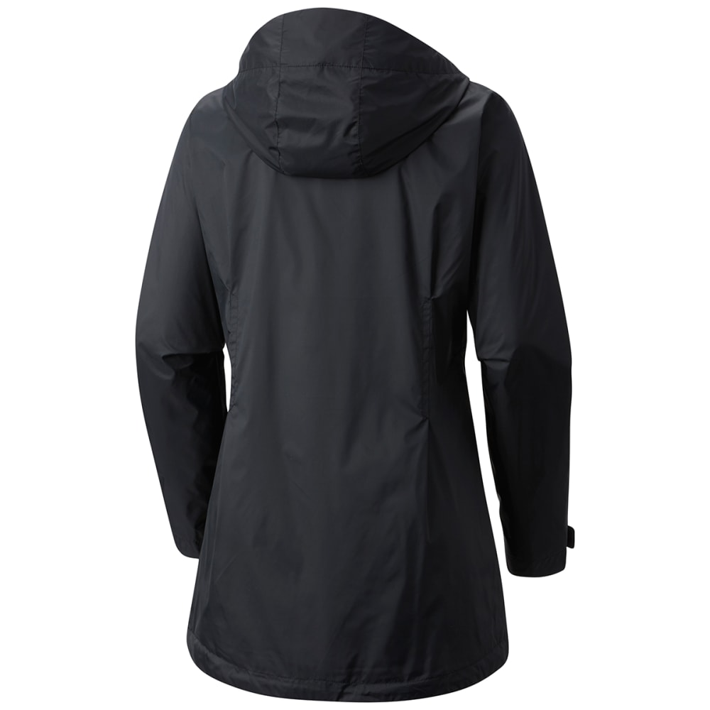 COLUMBIA Women's Switchback Lined Long Jacket - 010-BLACK