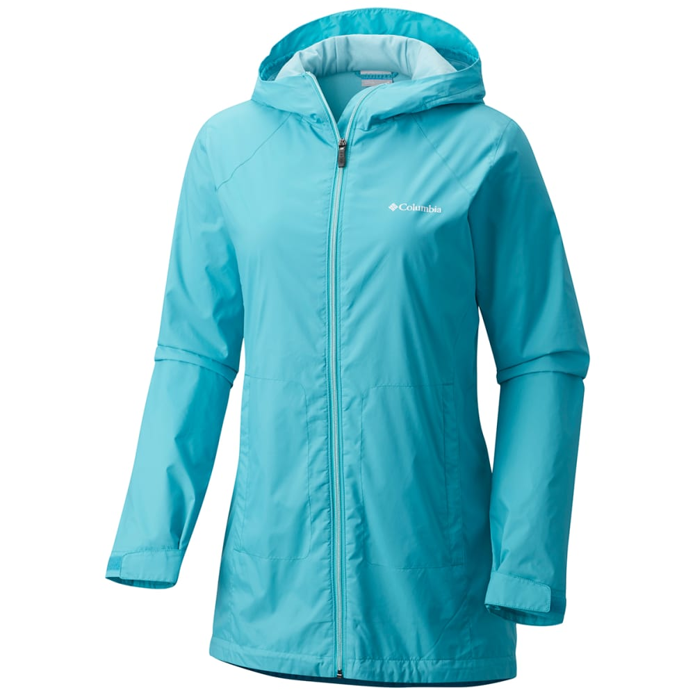 COLUMBIA Women's Switchback Lined Long Jacket - 732-GEYSER