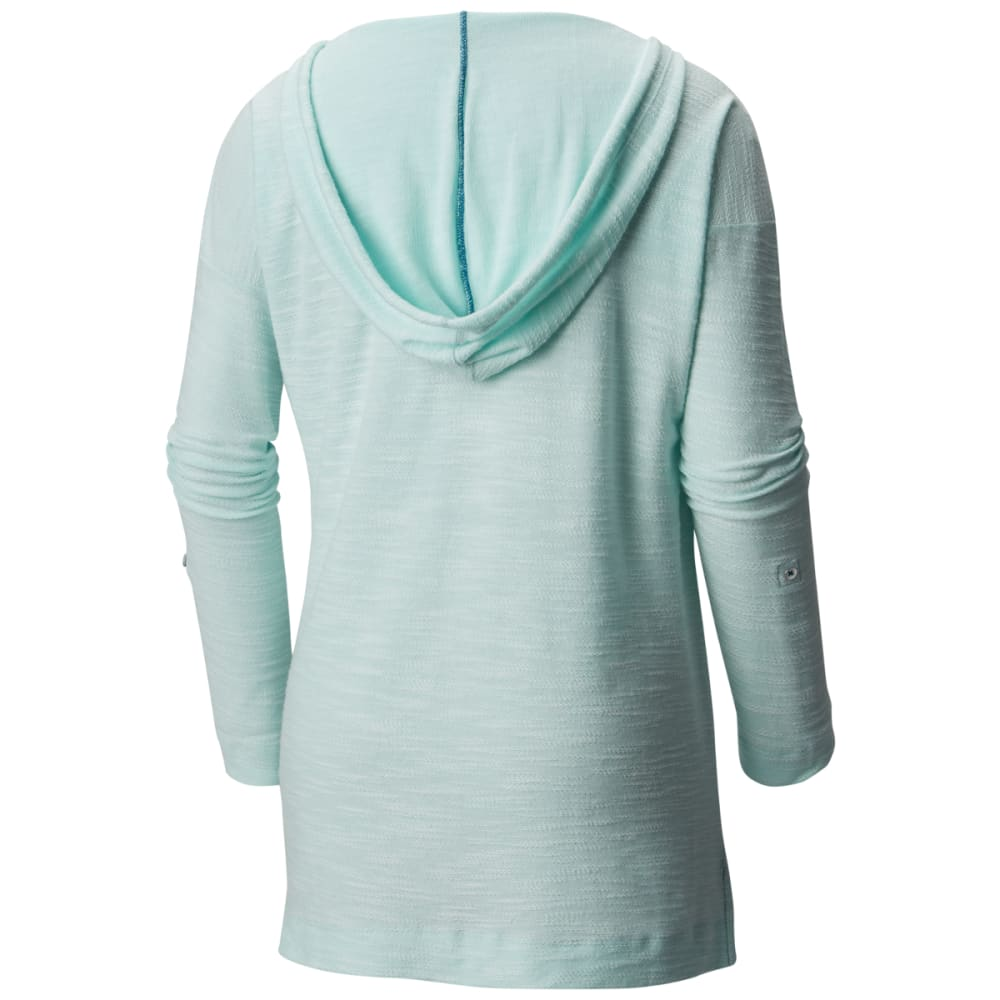 COLUMBIA Women's Coastal Escape Hoodie - 749-WIND HEATHER