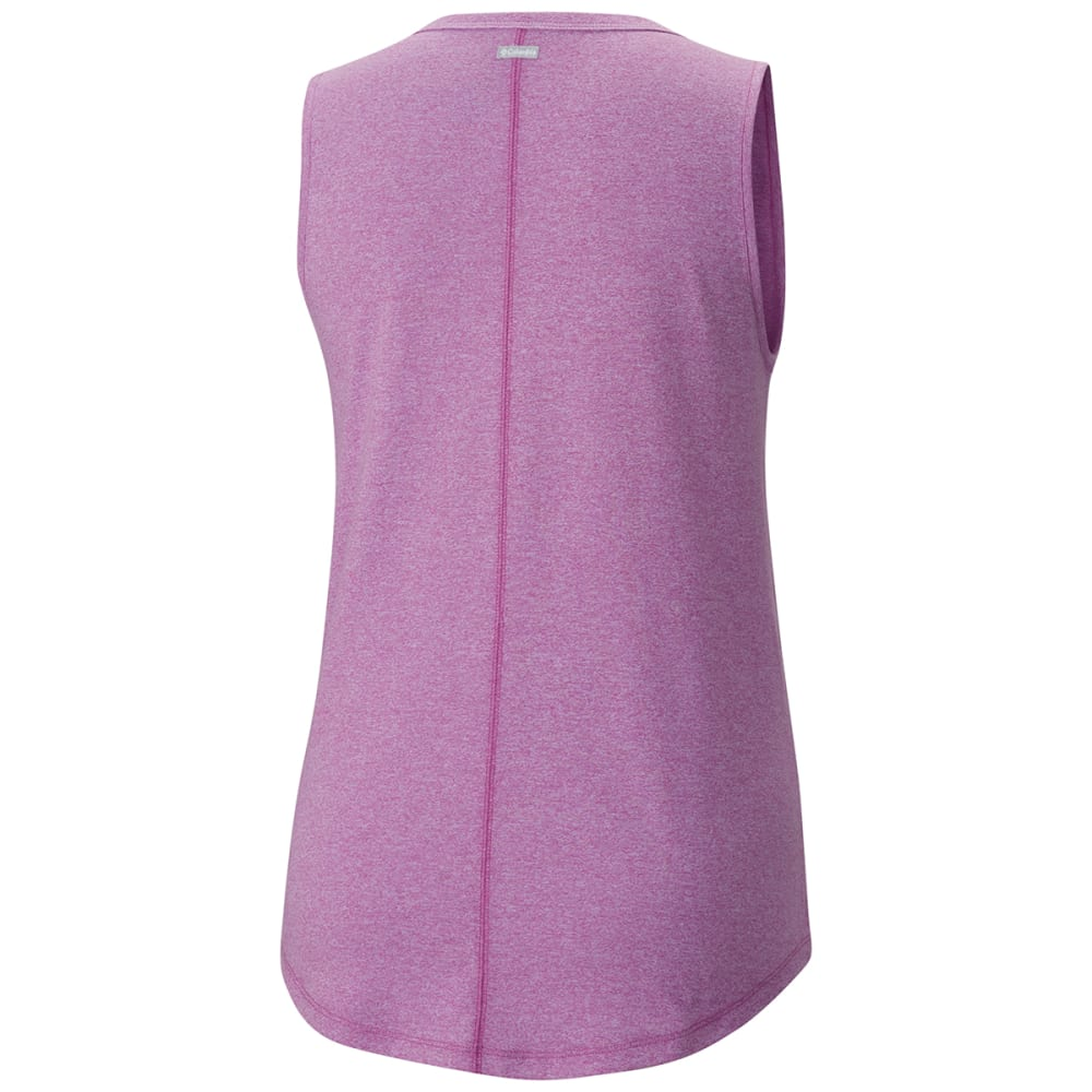 COLUMBIA Women's Willow Beach Tank Top - 519-INTENSE VIOLET T