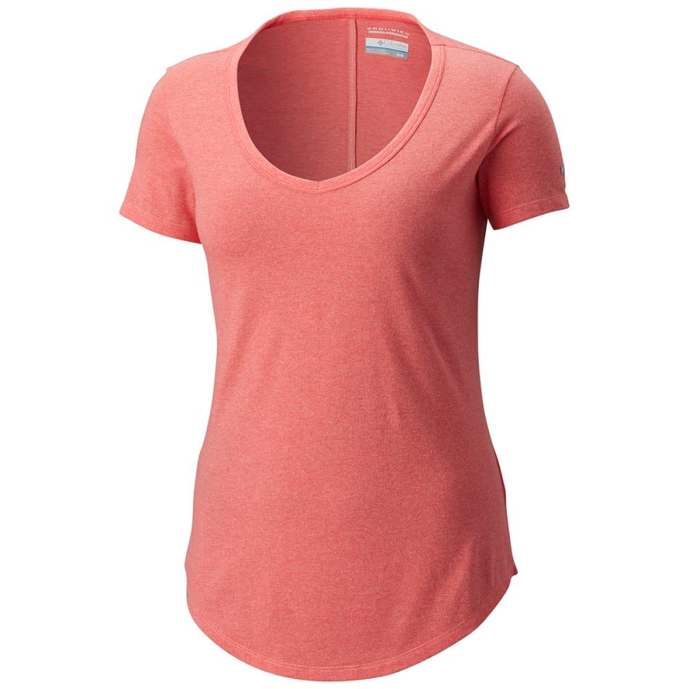 COLUMBIA Women's Willow Beach Short-Sleeve Tee - 818-SORBET TWISTED Y