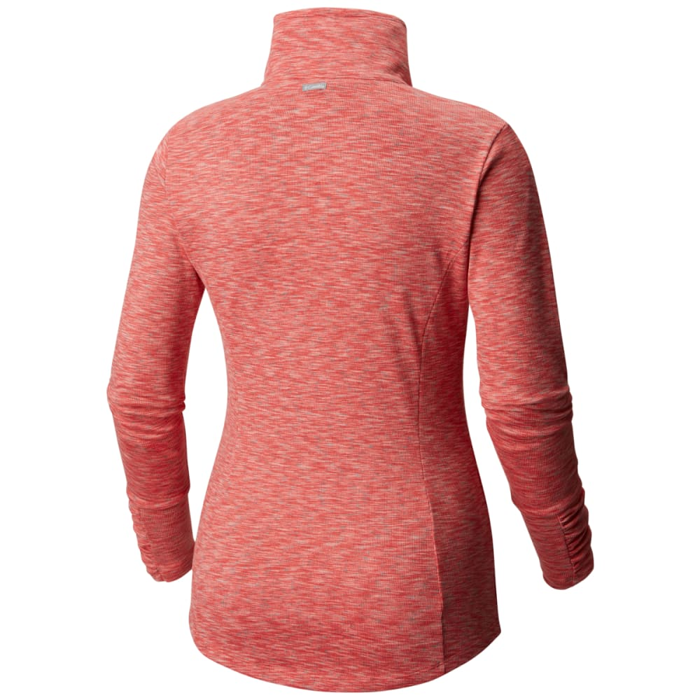 COLUMBIA Women's Outerspaced III Full Zip Top - 614-BLUSH PINK SPACE