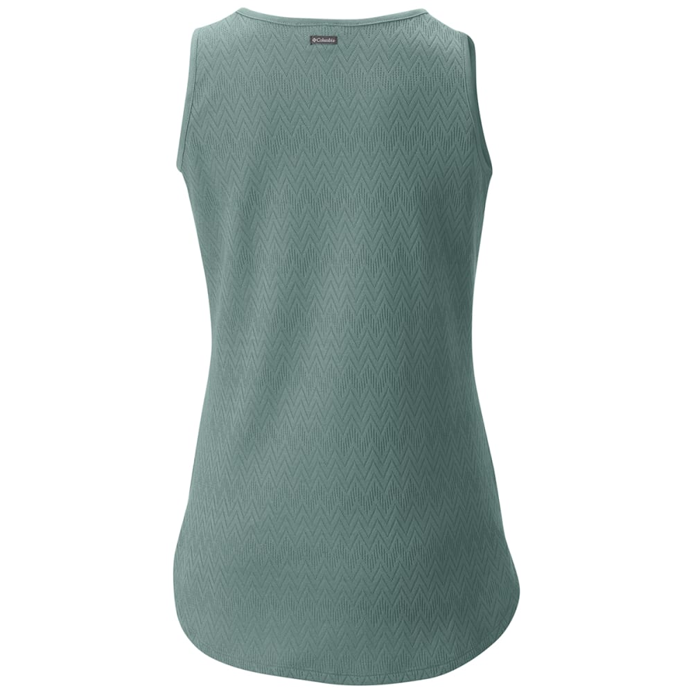 COLUMBIA Women's Crestview Tank Top - 387-DUSTY GREEN
