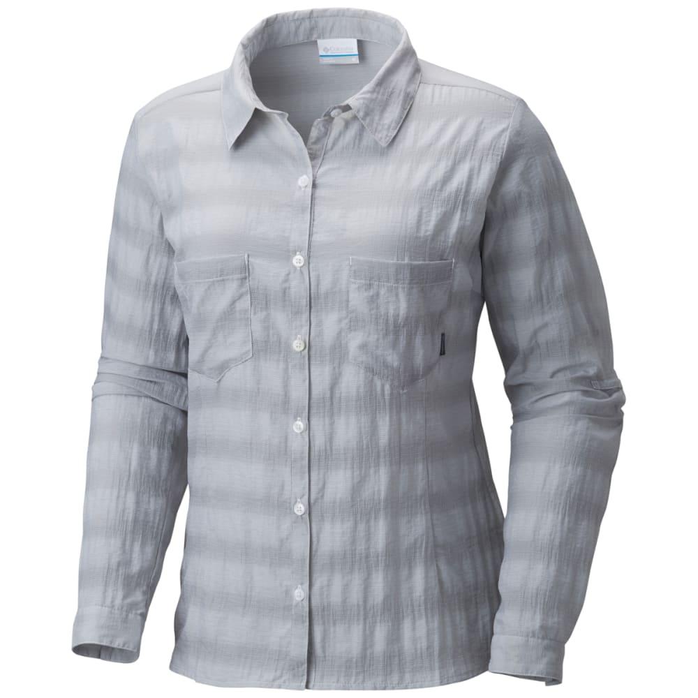 COLUMBIA Women's Summer Trek Long-Sleeve Shirt - 039-COLUMBIA GRY HTH
