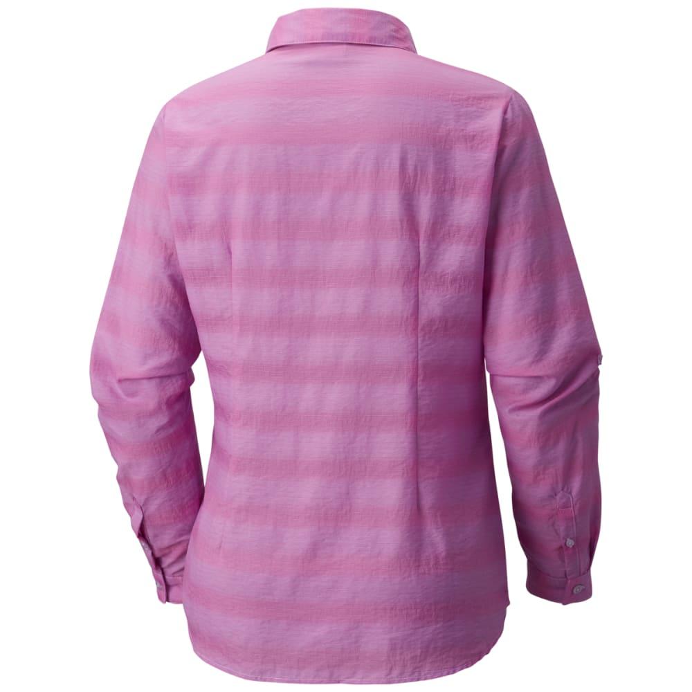 COLUMBIA Women's Summer Trek Long-Sleeve Shirt - 547-BRIGHT LAVENDER