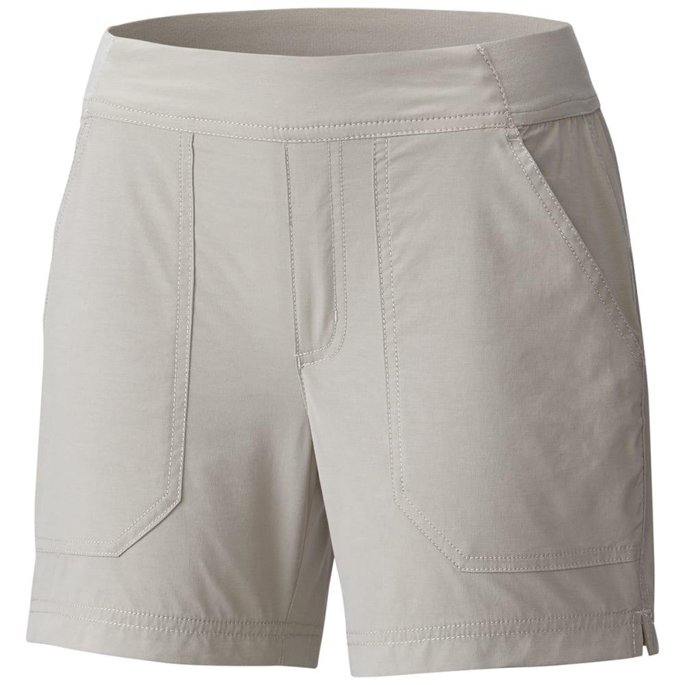 COLUMBIA Women's Walkabout Shorts - 027-FLINT GREY