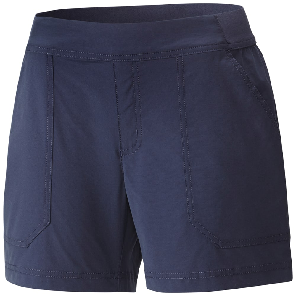 COLUMBIA Women's Walkabout Shorts - 591-NOCTURNAL