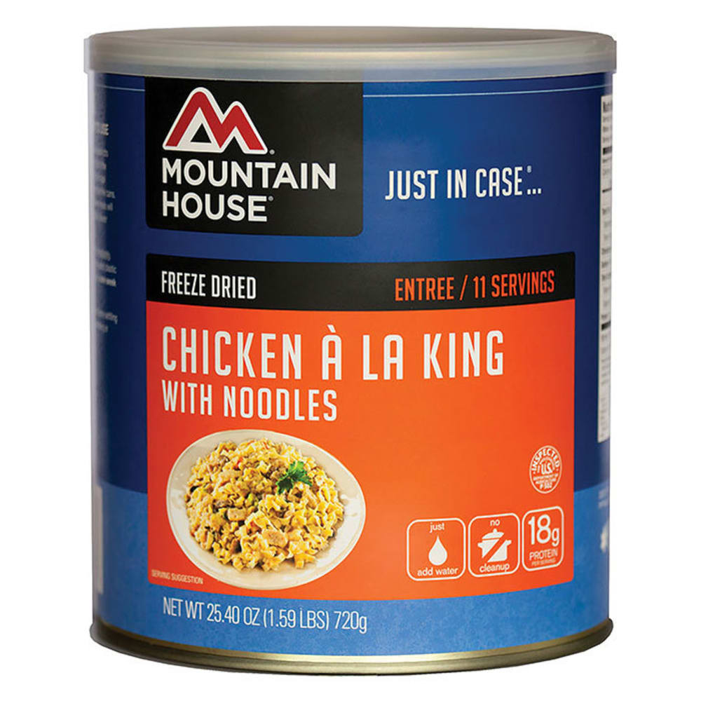 MOUNTAIN HOUSE Chicken a la King with Noodles, #10 Can - NO COLOR