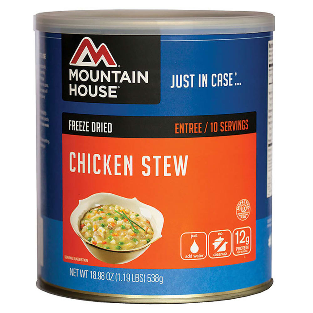 MOUNTAIN HOUSE Chicken Stew, #10 Can - NO COLOR