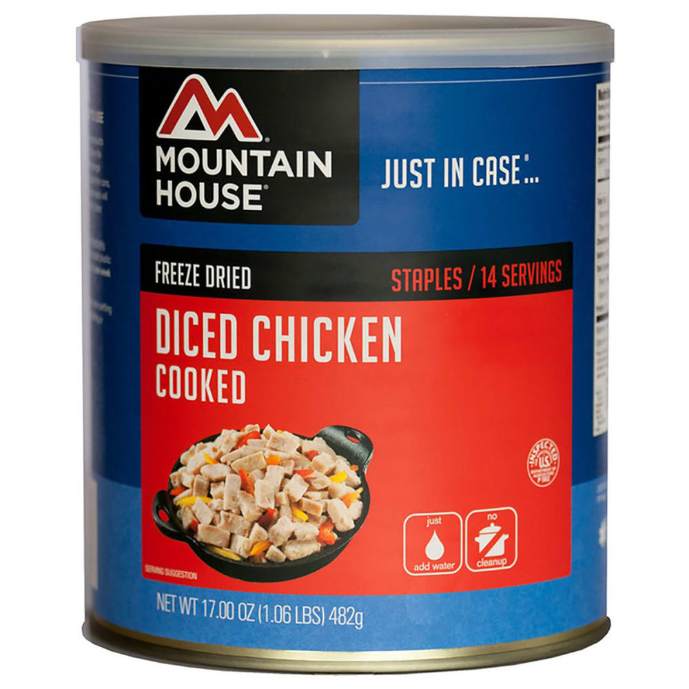 MOUNTAIN HOUSE Diced Chicken, #10 Can - NO COLOR