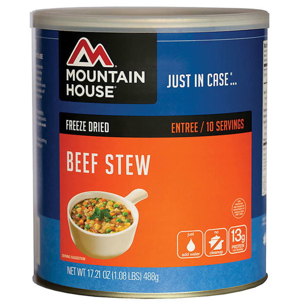 MOUNTAIN HOUSE Hearty Beef Stew, #10 Can - NO COLOR