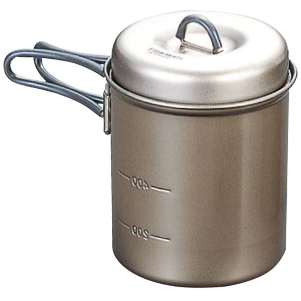 EVERNEW 0.6L Titanium NS Deep Pot with Handle - NO COLOR