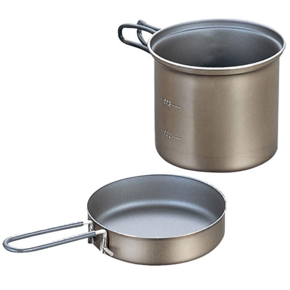 EVERNEW 0.9L Titanium NS Deep Pot with Handle - NO COLOR