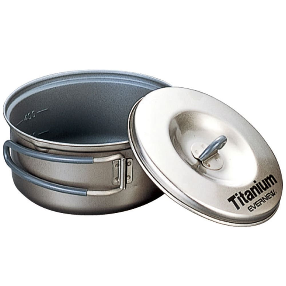 EVERNEW 0.6L Titanium Non-Stick Pot - NO COLOR