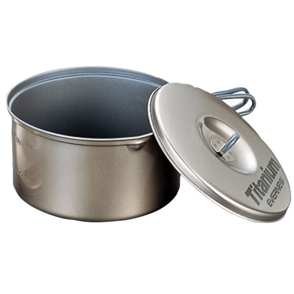 EVERNEW 1.3L Titanium Non-Stick Pot - NO COLOR