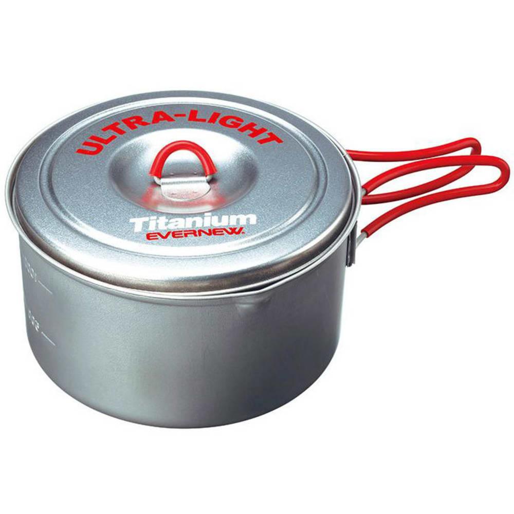EVERNEW 1.3L Titanium Ultralight Pot - NO COLOR
