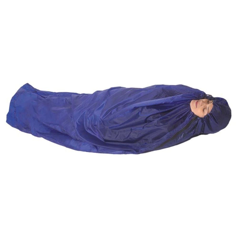EQUINOX Ultralite Bivi Mummy Bag - BLUE