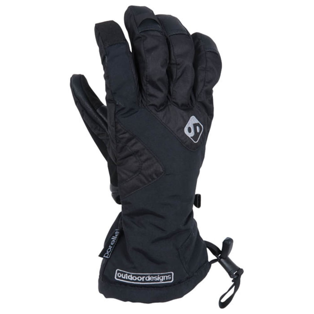 OUTDOOR DESIGNS Summit Gloves  - BLACK