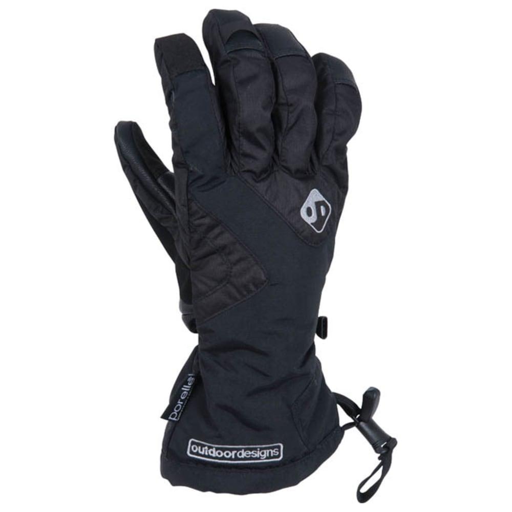 OUTDOOR DESIGNS Summit Gloves - BLACK