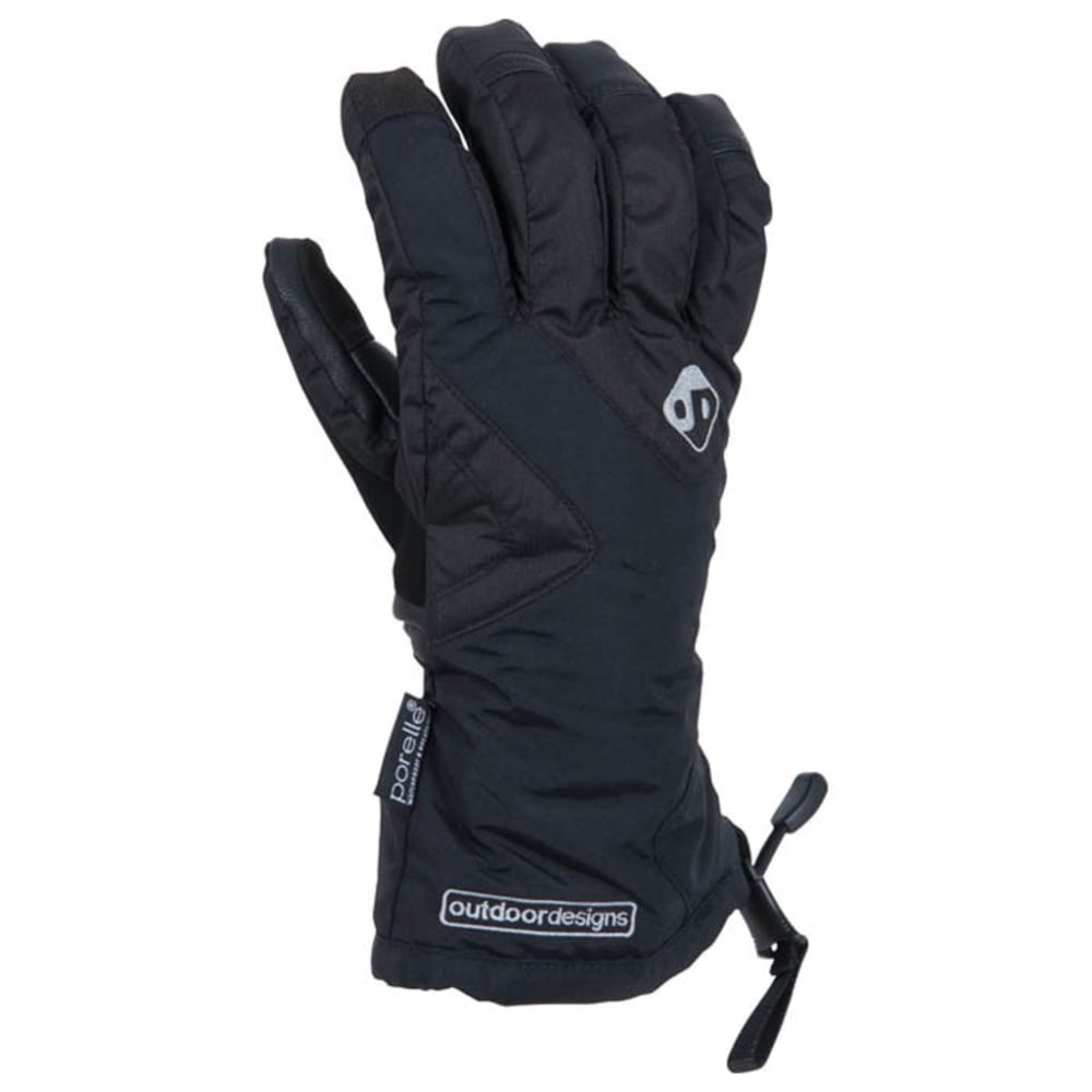 OUTDOOR DESIGNS Summit Lite Gloves  - BLACK