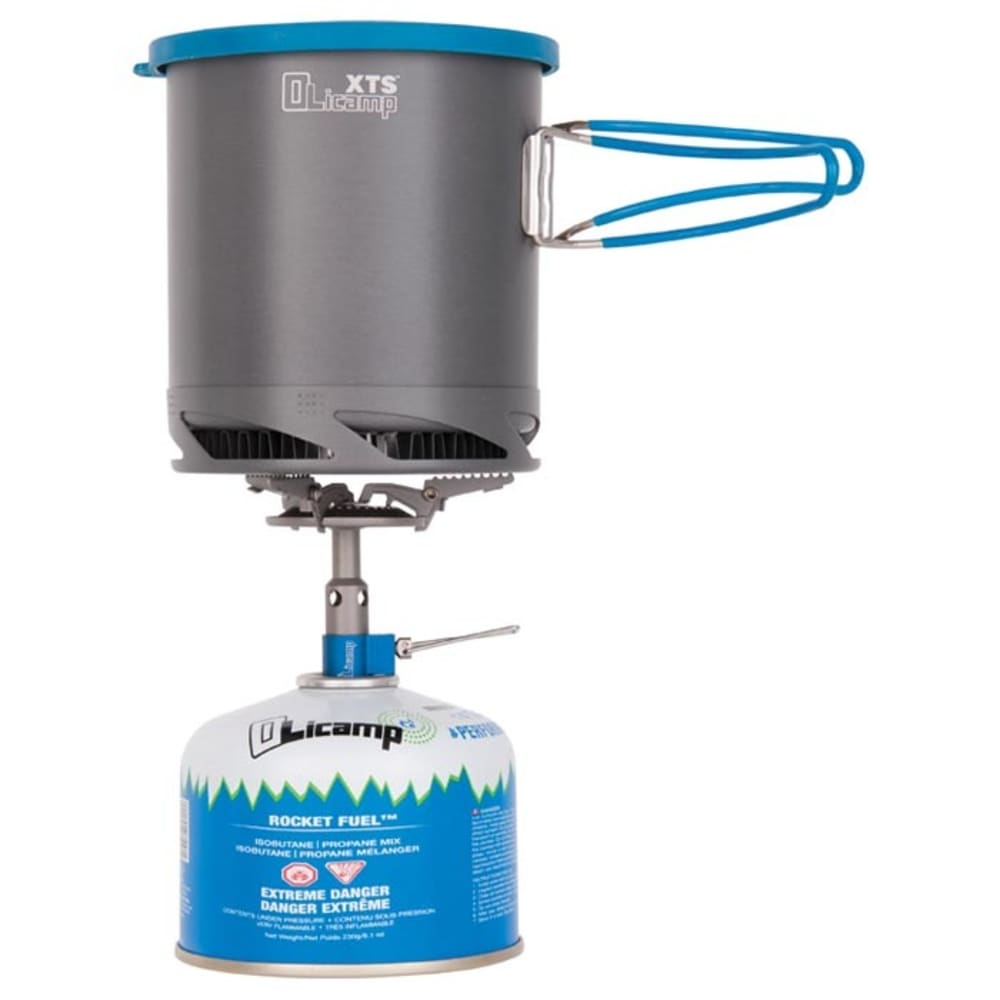OLICAMP Kinetic Ti Stove and XTS Pot Combo - NO COLOR