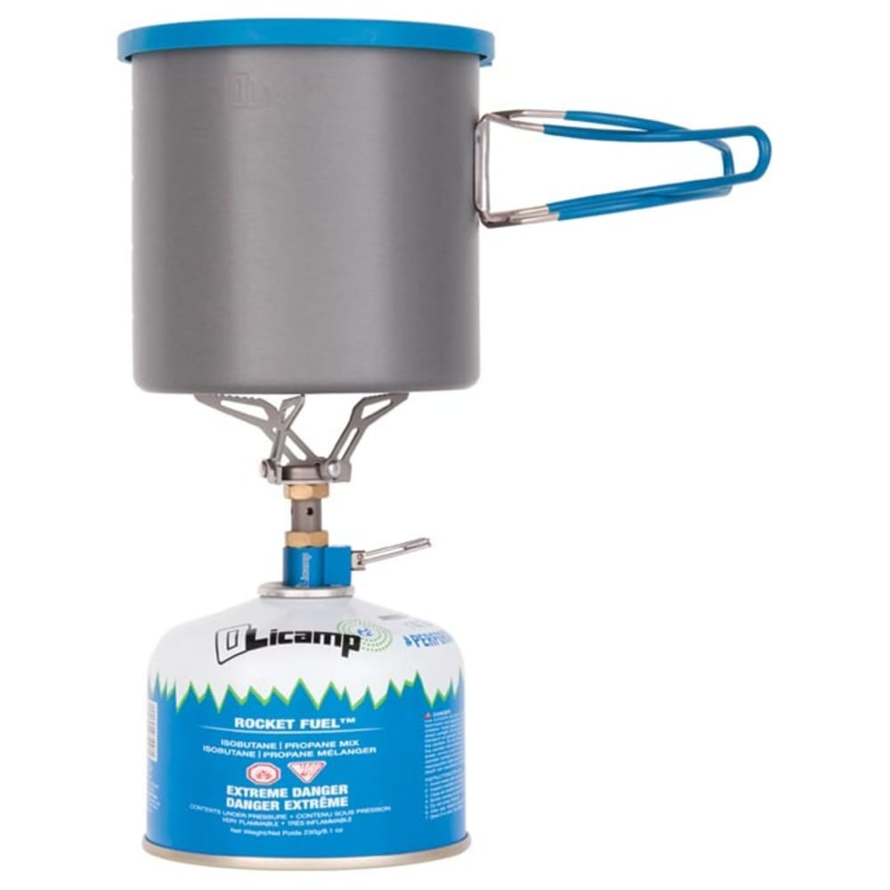 OLICAMP ION Micro Stove and LT Pot Combo - NO COLOR
