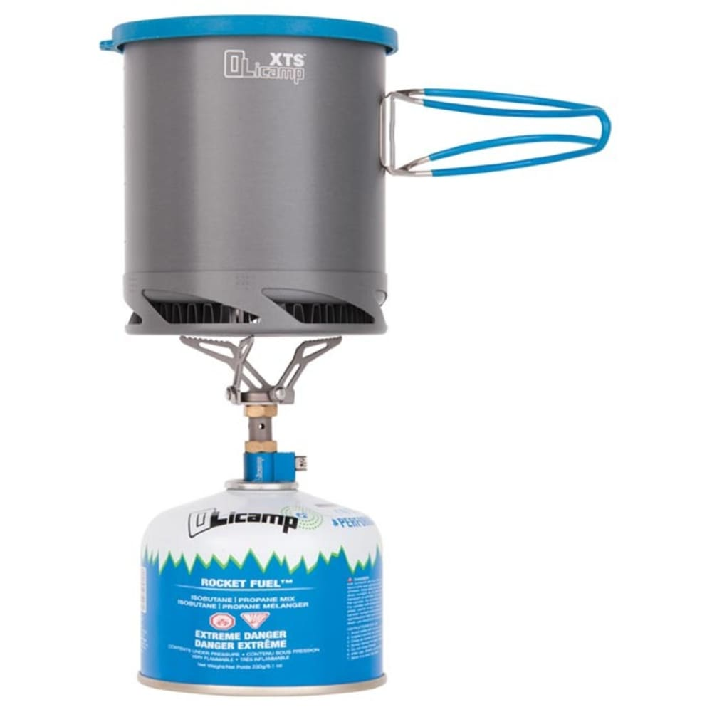 OLICAMP ION Micro Stove and XTS Pot Combo - NO COLOR