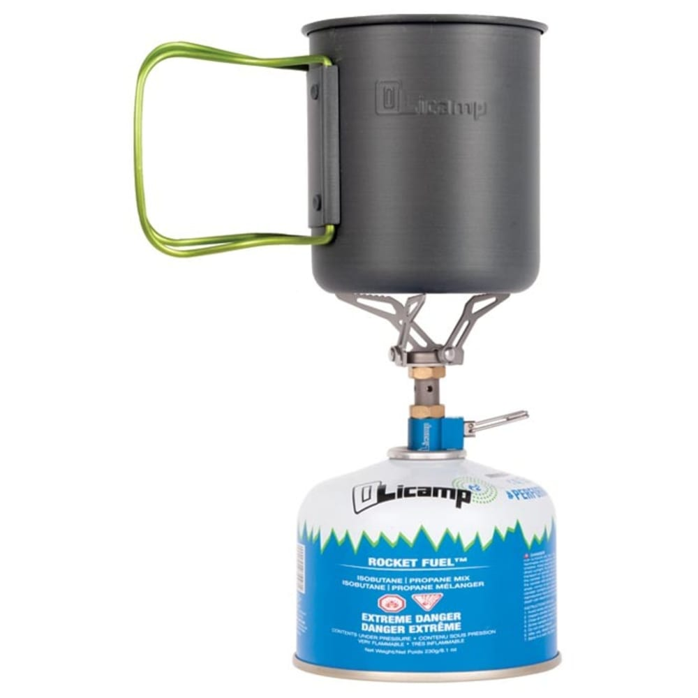 OLICAMP ION Micro Stove and Space Saver Mug Combo - NO COLOR