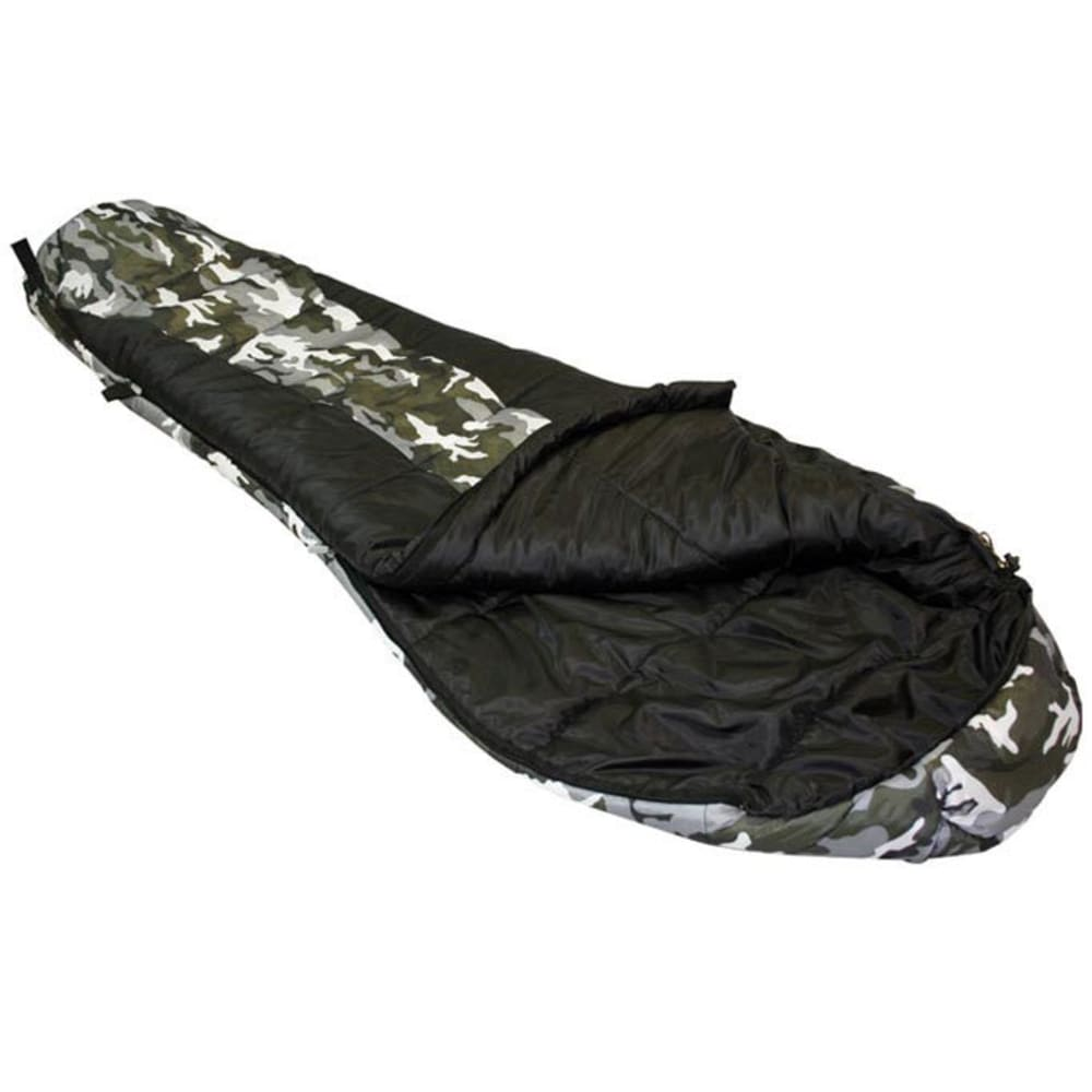 LEDGE Kids' River Junior 0 Degree Sleeping Bag - BLACK