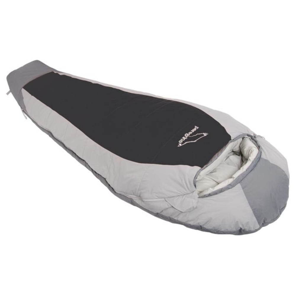 PEREGRINE Saker 20 Synthetic Sleeping Bag, Long - GREY/BLACK