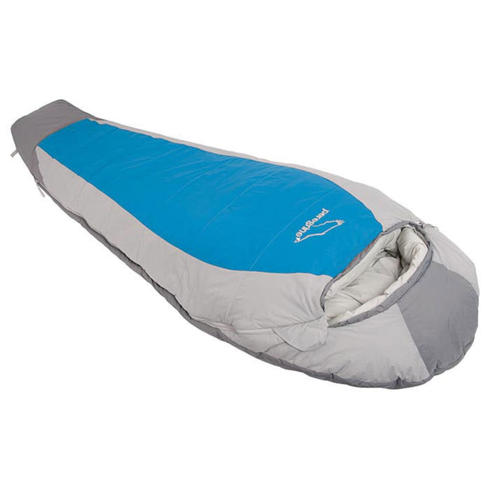 PEREGRINE Saker 0 Synthetic Sleeping Bag, Long - GREY/BLUE