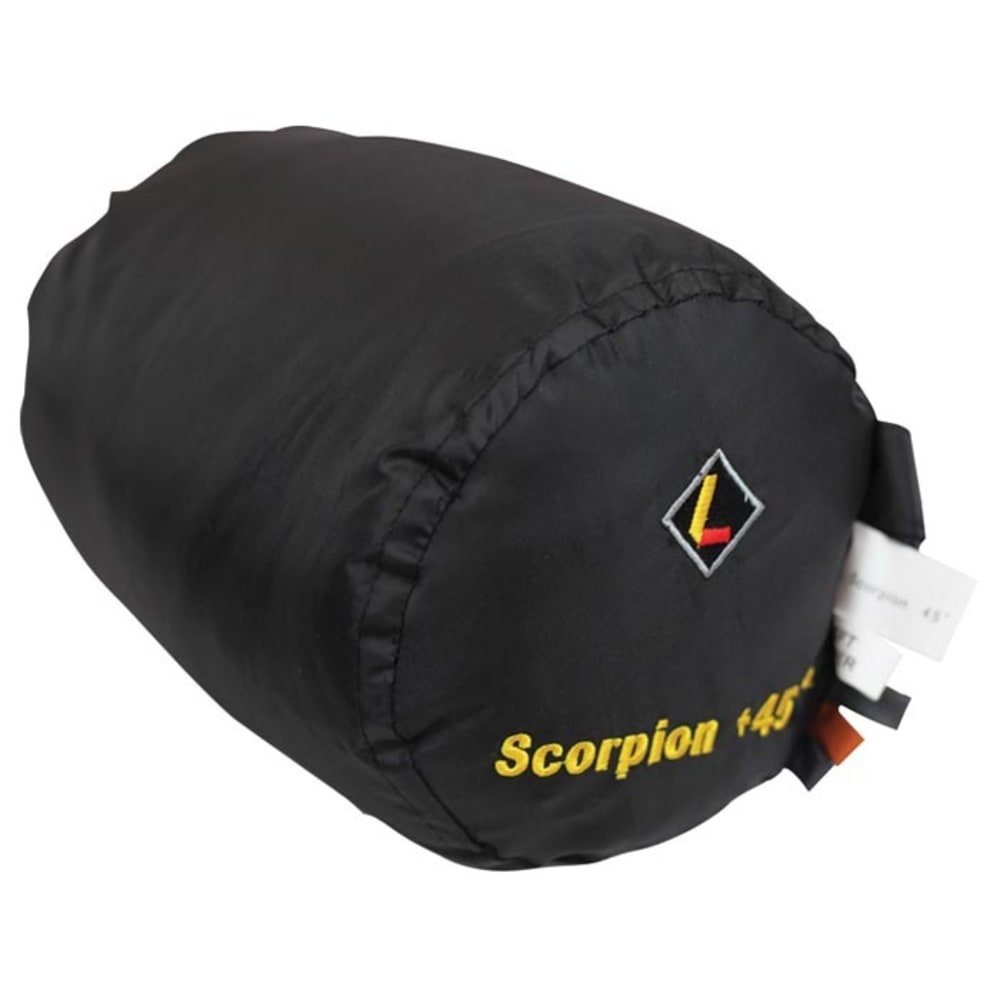 LEDGE Scorpion 45 Degree Sleeping Bag - GREY/ORANGE
