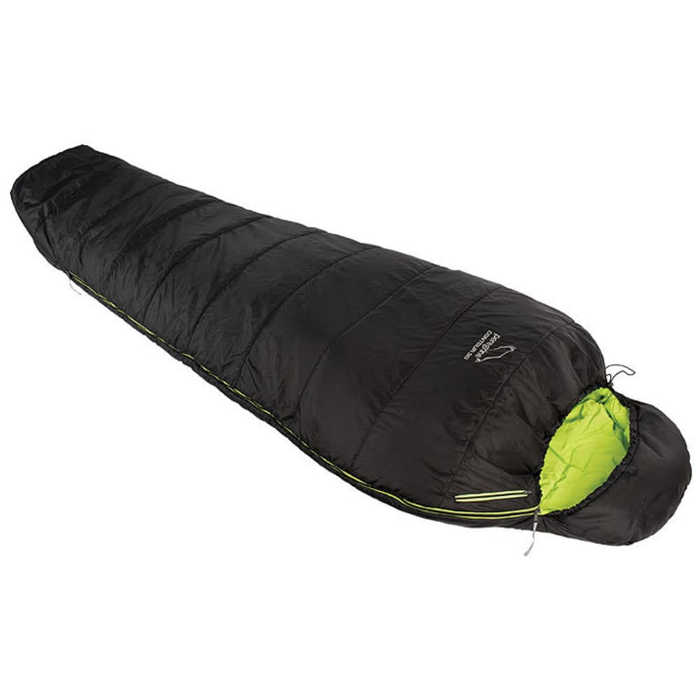PEREGRINE Contour 30 Sleeping Bag, Long - BLACK