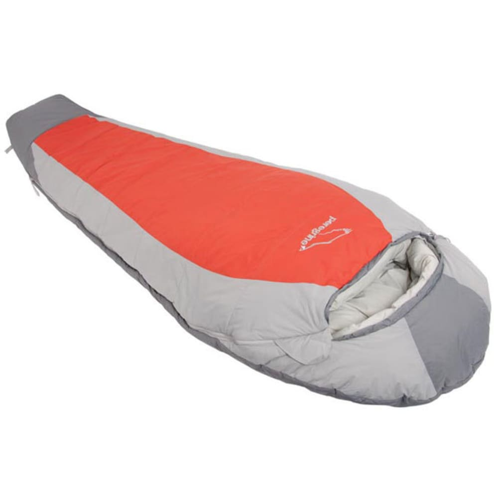 PEREGRINE Saker 35 Synthetic Sleeping Bag, Long - GREY/ORANGE
