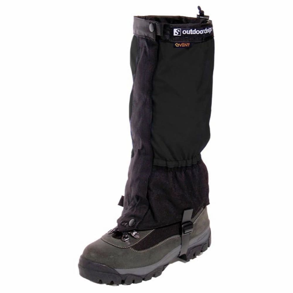 OUTDOOR DESIGNS Perma eVent Gaiter - BLACK