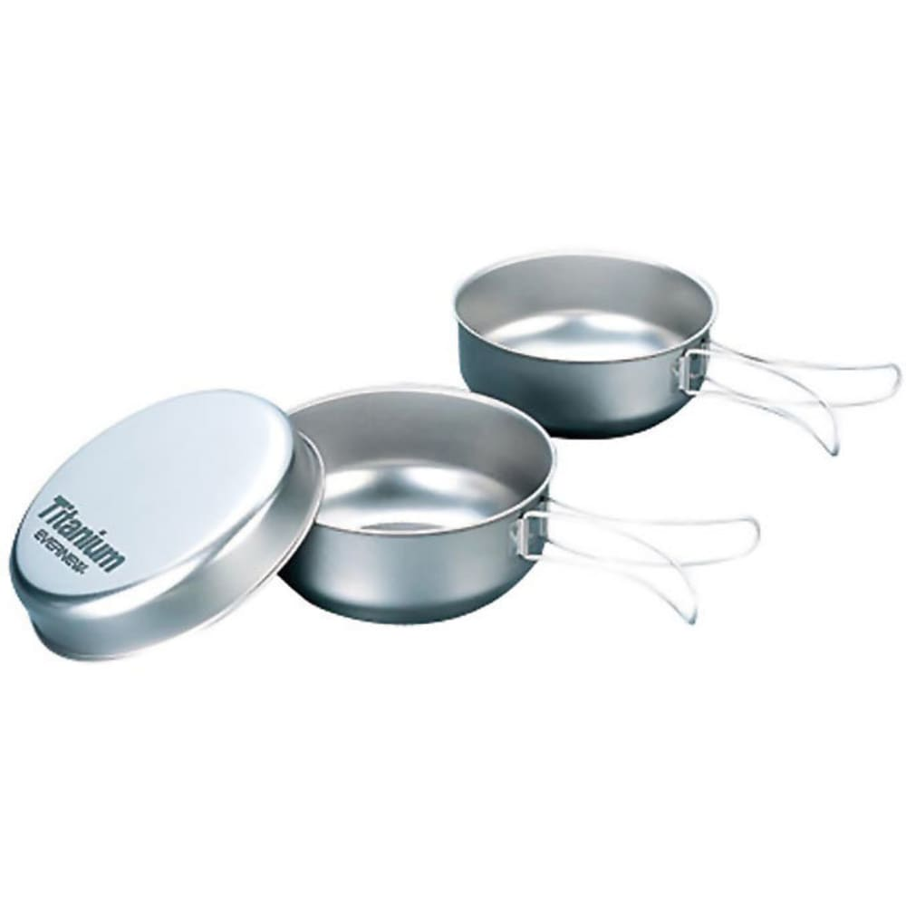 EVERNEW Titanium Bowl Set - NO COLOR
