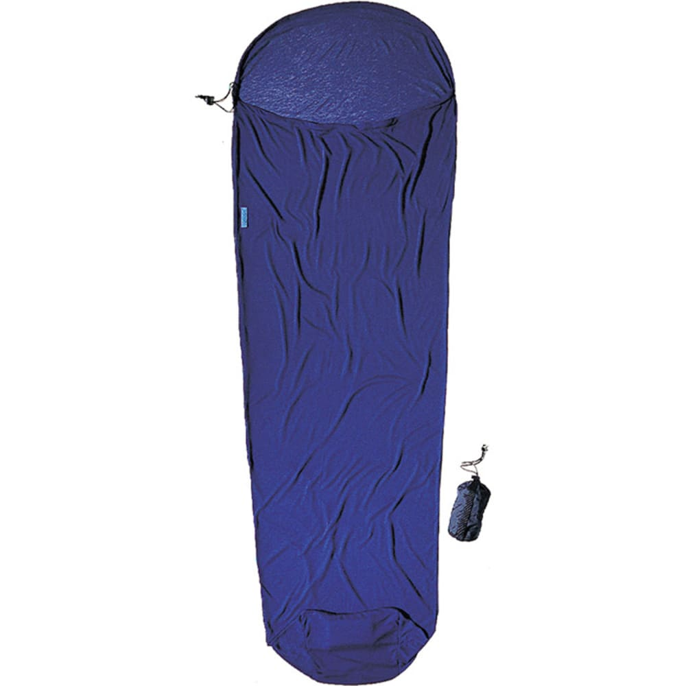 COCOON CoolMax MummyLiner - COOLMAX BLUE