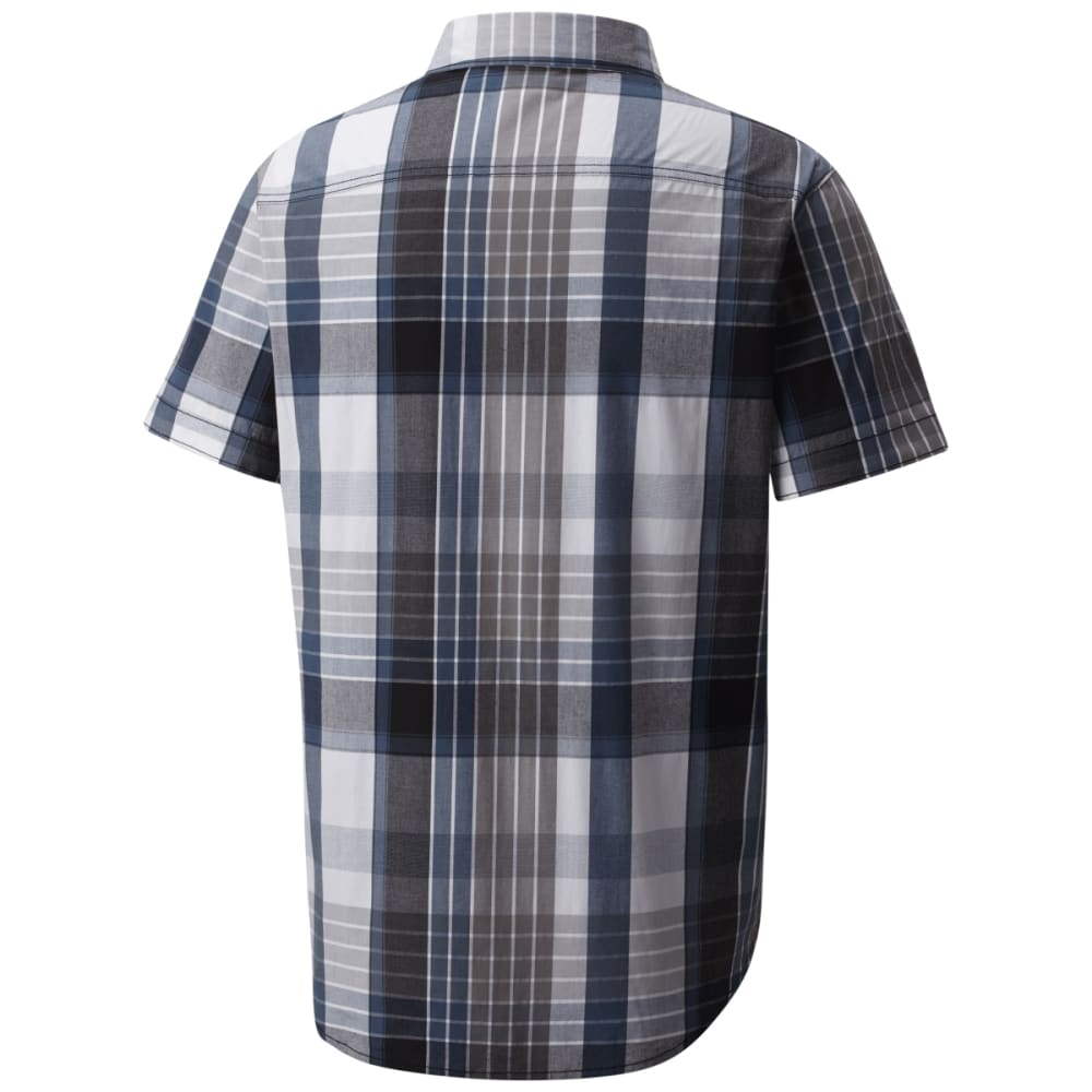 COLUMBIA Men's Boulder Ridge Short-Sleeve Shirt - BLK LG PLD-010