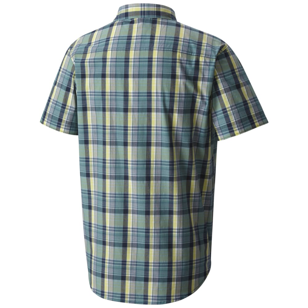 COLUMBIA Men's Boulder Ridge Short-Sleeve Shirt - CARBON PLD-469