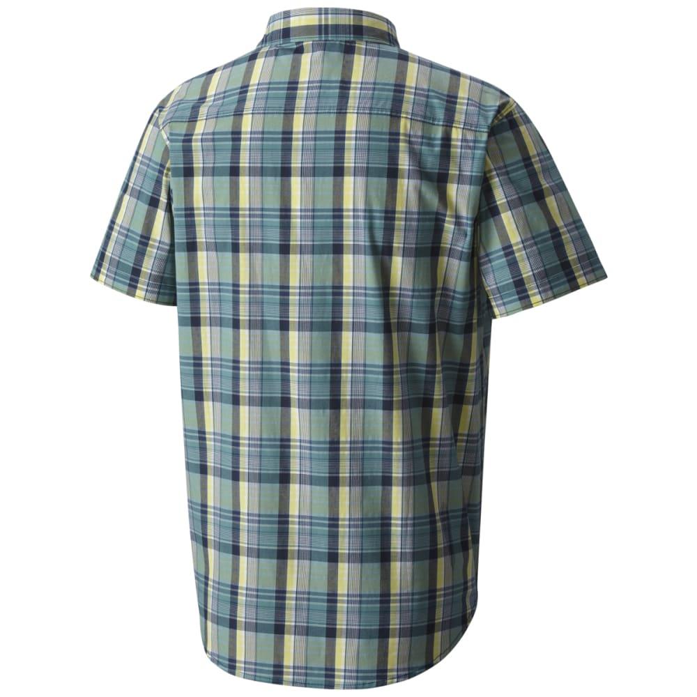 COLUMBIA Men's Boulder Ridge Short-Sleeve Shirt - CARBON PLD-469