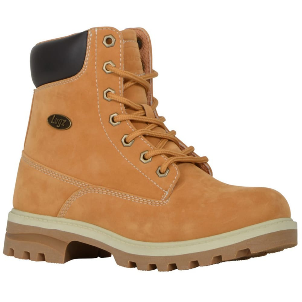 LUGZ Women's Empire Hi WR Work Boots, Wheat/Cream/Gum 6