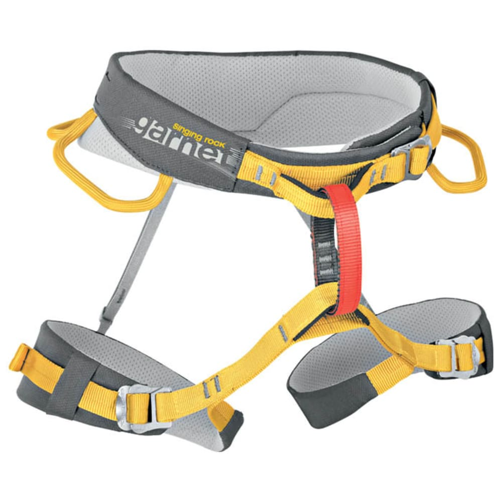 SINGING ROCK Garnet Climbing Harness - GREY