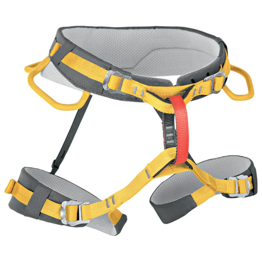 SINGING ROCK Spinel Climbing Harness - GREY/YELLOW
